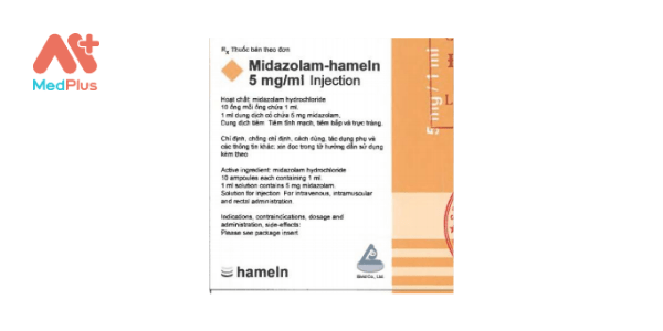 Midazolam - hameln 5mg_ml