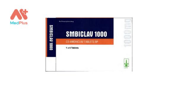 Thuốc Smbiclav 1000