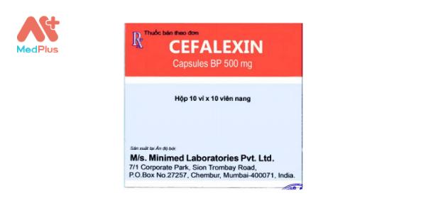 Cefalexin capsules BP 500