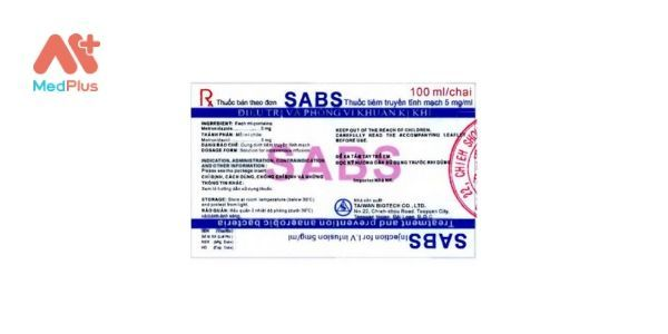 SABS Injection for I.V Infusion 5mg/ml