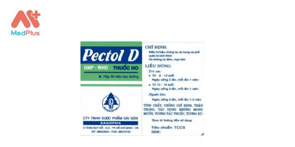Thuốc Pectol D